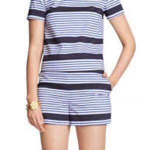 Draper James striped shorts. Size 10.